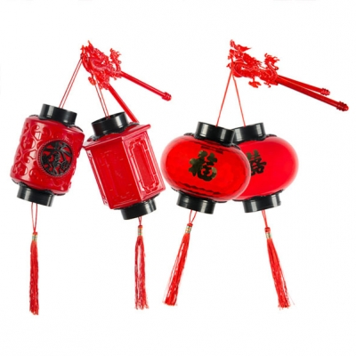 Chinese LED Red Lantern (100pcs/lot)