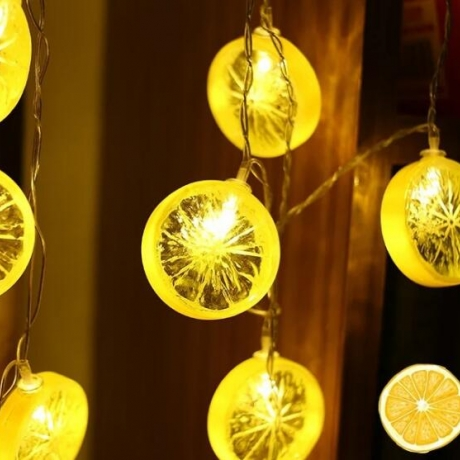 Led lemon light string