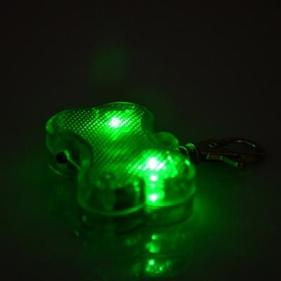 Bright light plastic led pet bone pendant (600pcs/lot)