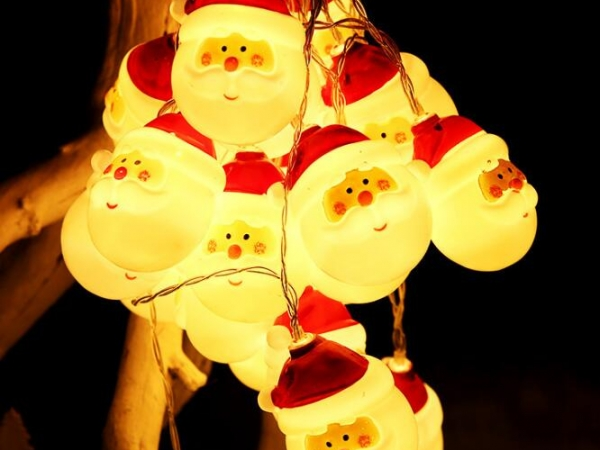 Santa Claus Christmas Snowman LED light string