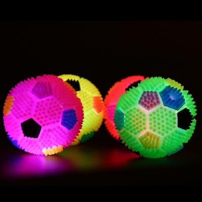 Elastic LED Flashing Dog Squeaky Ball  (288pcs/lot)