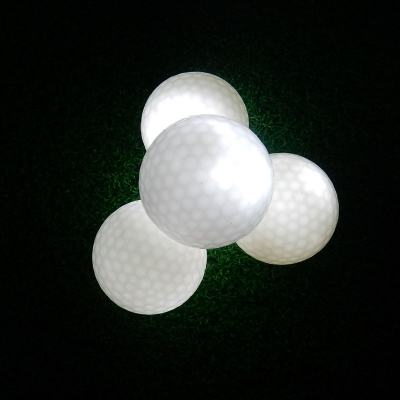 Wholesale Dark Tracker Light up LED electronic golf ball (300pcs/lot)