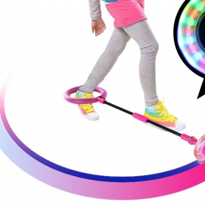 $120 could buy one lot Kids LED Light twist on jumping Ropes Sports Skip LED Flashing Swing Ball