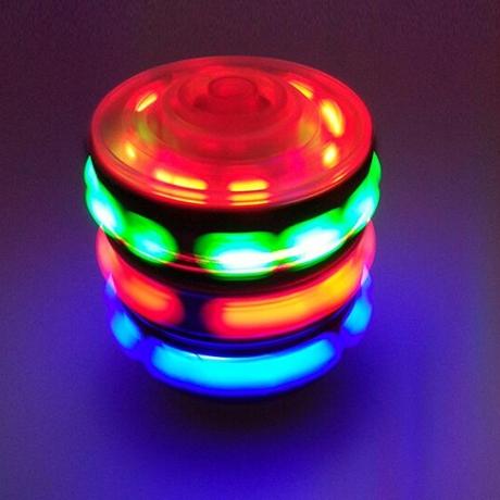LED colorful light emitting flash gyroscope
