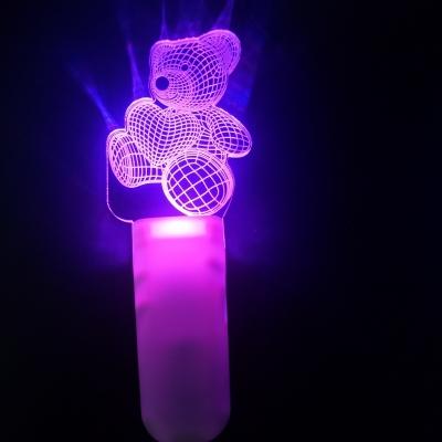 $200 could buy one lot Customized logo Acrylic light stick (120pcs/lot)