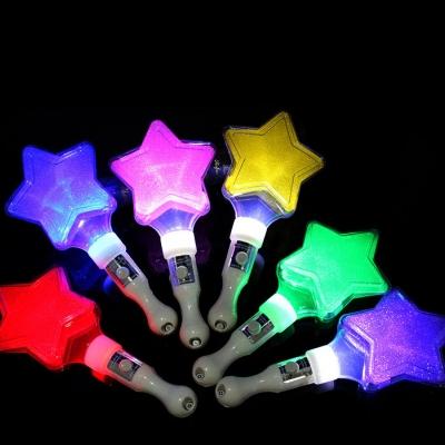 Concert fluorescent cheering LED star light stick (480pcs/lot)