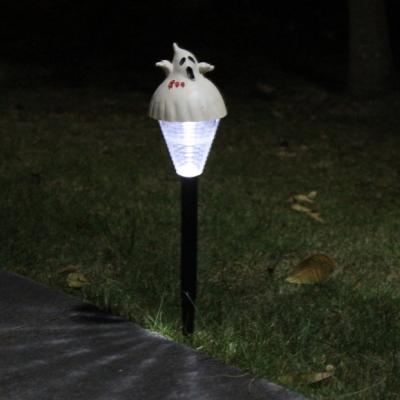 Arts And Crafts Polyresin Raw Material halloween solar stick lamp (100pcs/lot))
