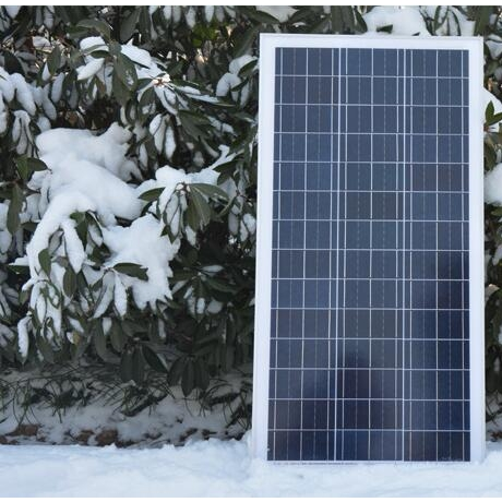 Polycrystalline silicon solar panels for household solar power systems (100W)