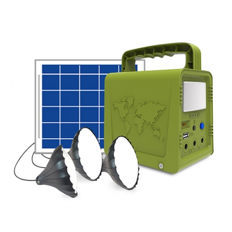 Portable solar camping lighting system (No.SL-XT01)