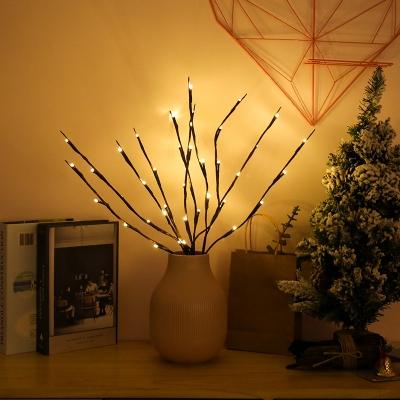 Bright light vase decoration simulation branch lamp