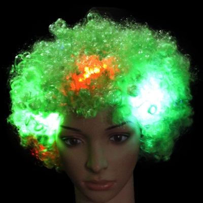 LED glowing explosion head wig (150pcs/lot)