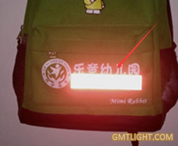 reflective stickers for schoolbags for safe purpose