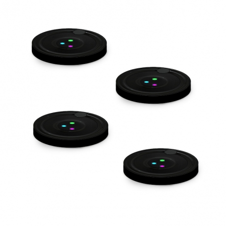 USB power wireless controlled game playing coaster (No.GFE-C1010)