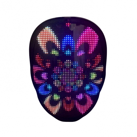 LED full display changing party face props (No.M-A016)
