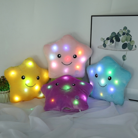 Childred favor LED flashing pillow with colorful light (LP-100)