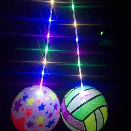 Fitness sports entertainment luminous inflatable fitness flash ball