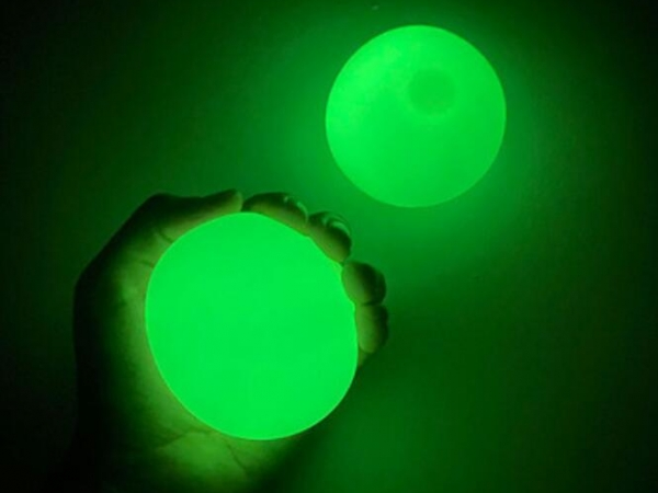 Luminous throwing stick ball glow in dark