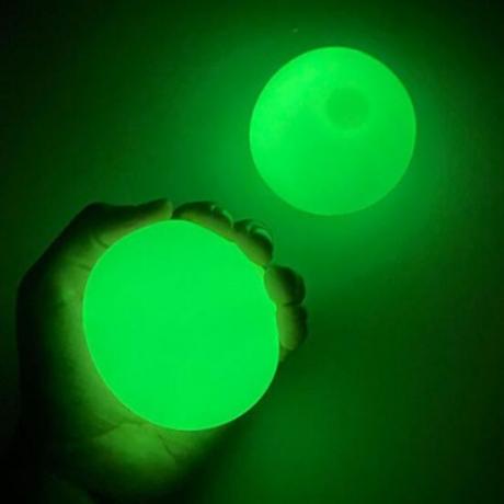 Luminous throwing stick ball glow in dark