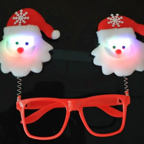 Christmas theme virtual glasses