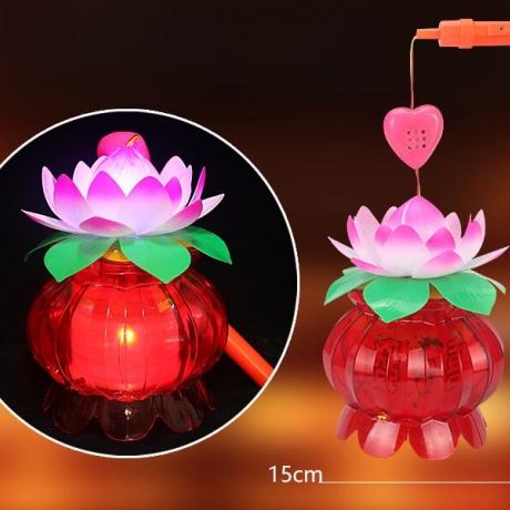 prosperous times portable Lotus Lantern