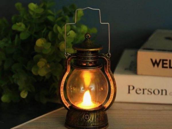 Led retro lantern
