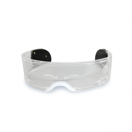 Technical shape acrylic science fiction eyeshade toy (No.LFG-600)