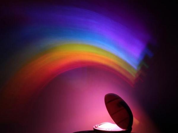 Aurora Borealis projection lamp