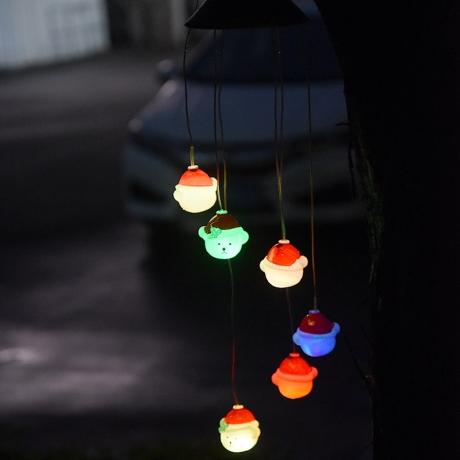 Yard Garden Christmas Decoration Window Wind Chime Hanging Lamp (ML-078)