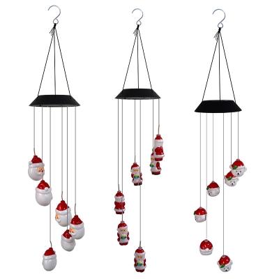 Garden Christmas Decoration Window Wind Chime Hanging Lamp (100pcs/lot)