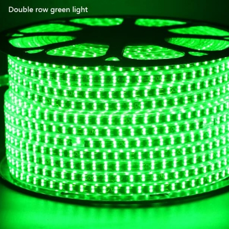LED light strip with double row led monochrome running lamp
