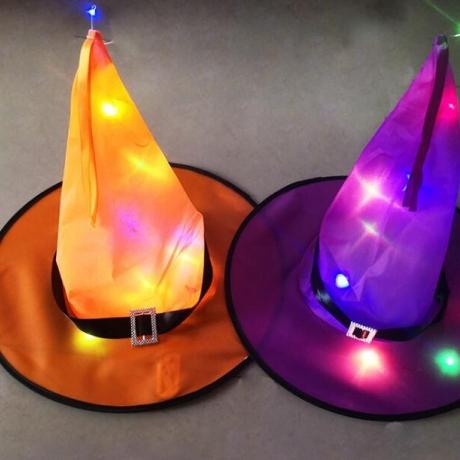 Luminous Witch Hat Light