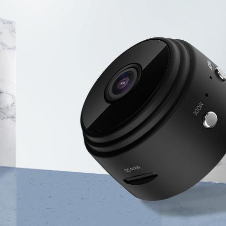 4.4cm HD indoor WiFi remote control small camera