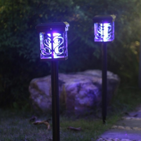 Solar light and mosquito lamp