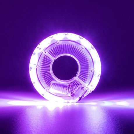 Rechargeable bicycle hub special optical design decorative lamp (No.BA13)