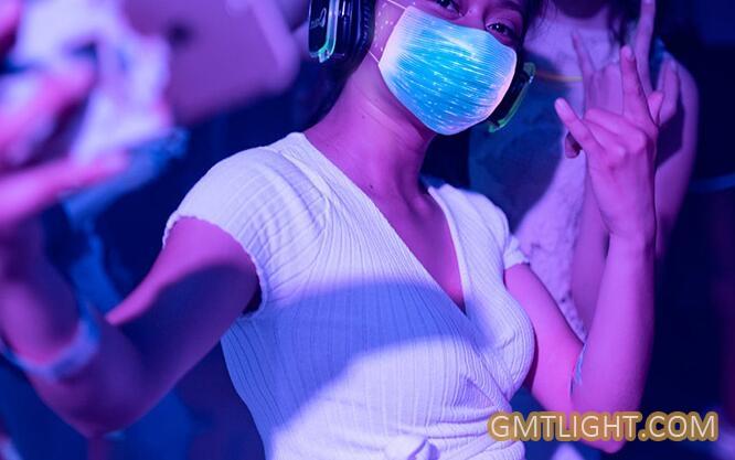 led flash mask