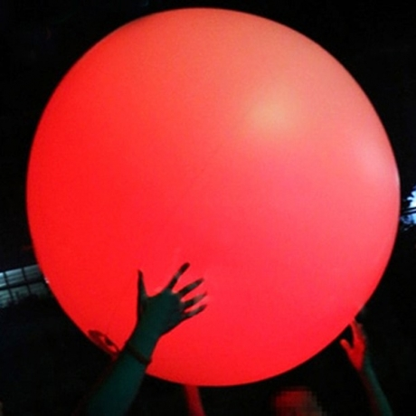 super large balloon light for advertising