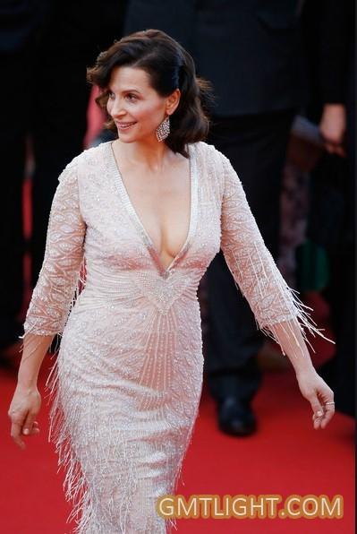 法国女演员朱丽叶·比诺什