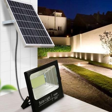 30W solar floodlight