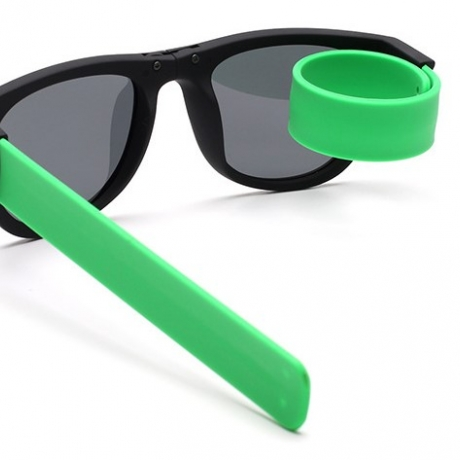 Fashion wristband Sunglasses with crimpable legs