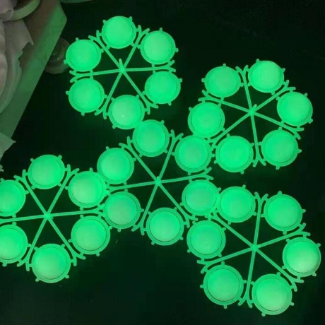 Glow in dark sarin double deck golf ball (No.FT-03)