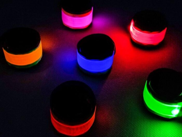 led light clap circle arm band