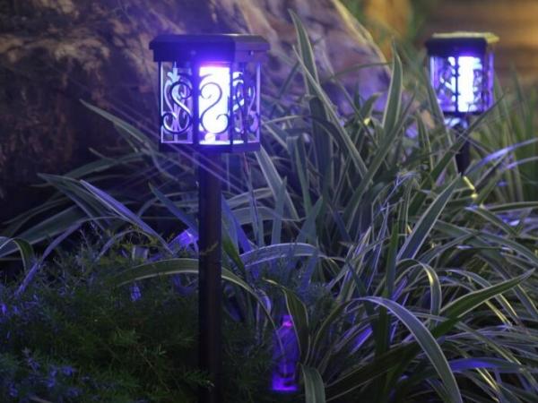 Solar kill mosquito lamp