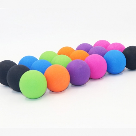 Single ball rubber massage yoga sport exercise ball (No.YSR-004A)