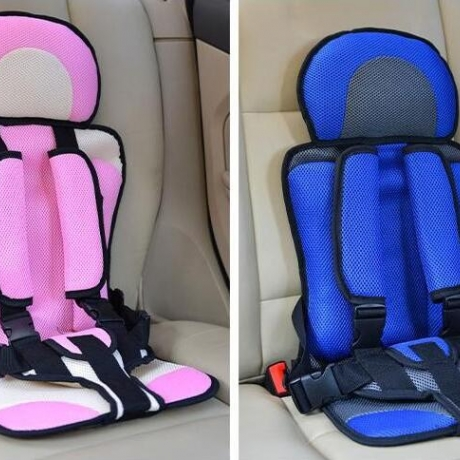 Simple portable child seat for car