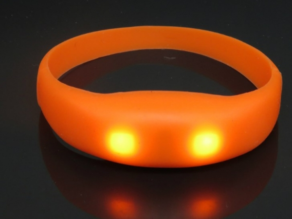 Phone call reminder flashing silicone bracelet