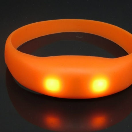 Phone call reminder flashing silicone bracelet
