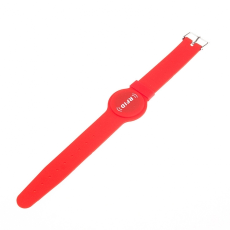 Adjustable watch buckle RFID security indentification wristband (No.RF-S002)