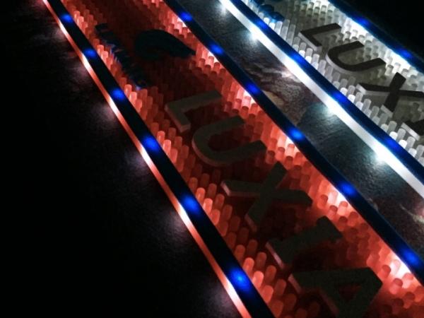 customizable 2D logo LED lighting and luminous bar mat