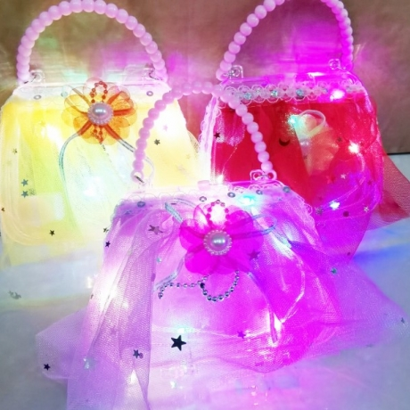 Luminous led flash handbag