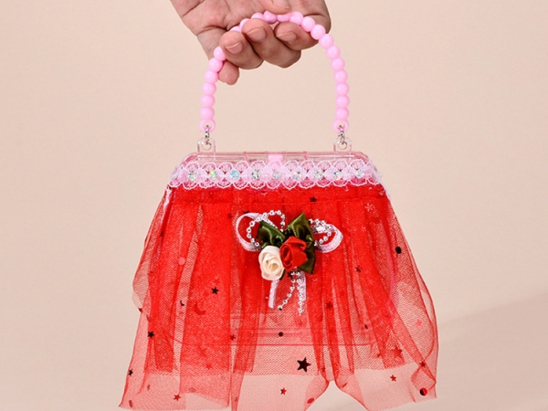 Colorful light LED flashing fancy party handbag (No.M-BD101)